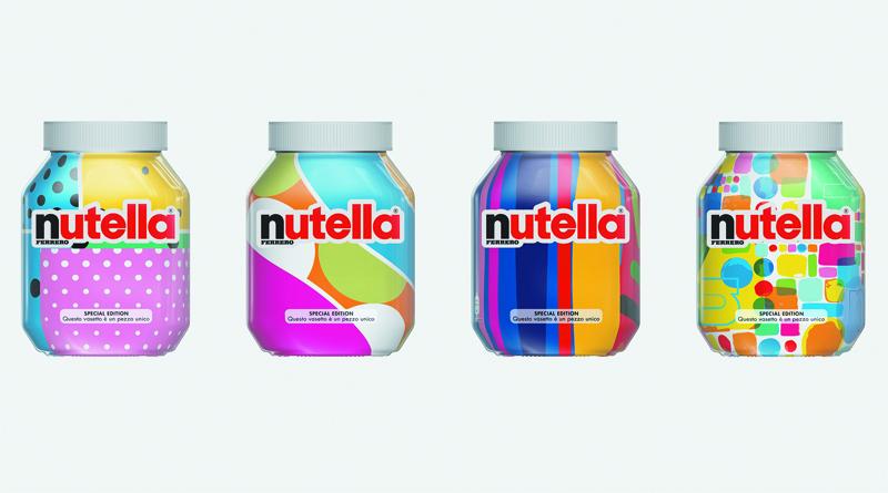 Nutella ha usado un algoritmo para diseñar su nuevo envase