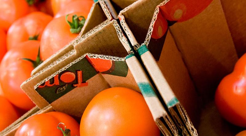 Crean una caja de cartón que alarga la vida de frutas y hortalizas