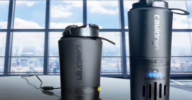 Botella con tecnología avanzada controla la temperatura del agua o de cualquier bebida