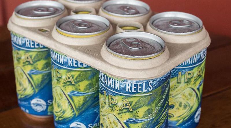 Innovadores anillos biodegradables para las latas de cerveza